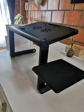 Mesa funcional para portátil