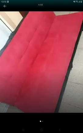Sofa cama Spring rojo
