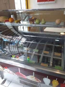 Congeladora - Exhibidora para cubetas de helado o cremoladas