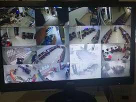 Servicio de instalación y mantenimiento de cámaras de seguridad CCTV