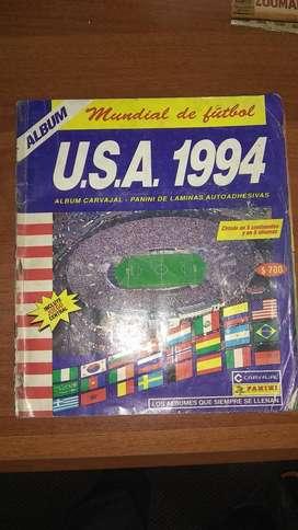 Album Mundial de fútbol USA 1994 - Carvajal original lleno