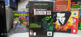 Manual Rainbow Six ORIGINAL para Nintendo 64