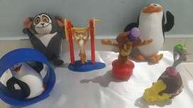 Muñecos Madagascar