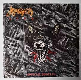 Venom Official Bootleg Vinilo Uk 1986 American Phonograph