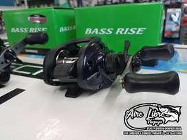 Reel Shimano Bass Rise Derecho Bait Agente Oficial