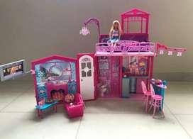 Barbie en Navidad , el mejor regalo para tu nena