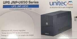 UPS UNITEC 650VA
