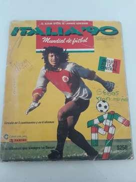 Albun del mundial italia1990 completo en buenas condiciones