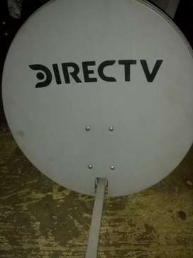 Antena de direct tv y modem