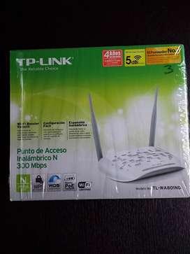 access point tp-link TL-WA 801ND - expansor de señal wifi