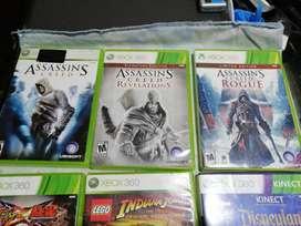 Video juegos Originales para xbox 360 y PS2 + Kinect
