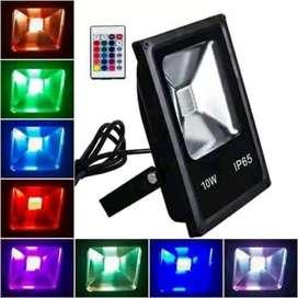 Reflector RGB de 10w