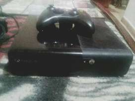 vendo xbox 360 pro, con control sin base para baterias