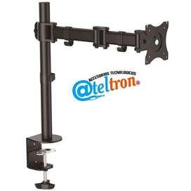 Soporte monitor led lcd  brazo articulado escritorio