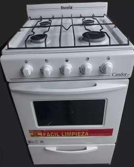 Cocina escorial poco uso para gas natural