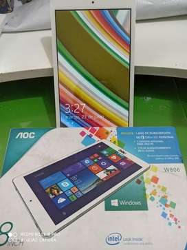 "Tablet 8"" AOC Windows"