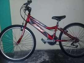 Bicicleta pequeña de cambios