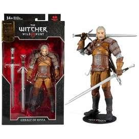 Figura Accion Geralt Of Rivia The Witcher