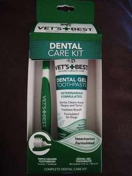 Dental care kit- pasta dental para mascotas