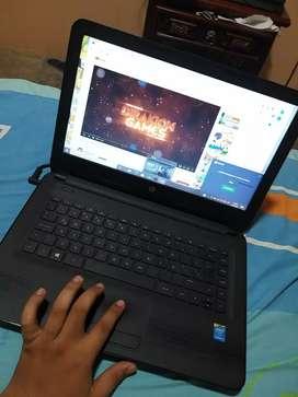 Lapto core i3 hp 14 pulgadas perfecto estado como nueva