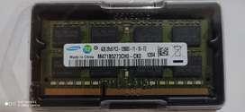 Memoria DDR3 4gb pc3 1600 h 12800 samsung