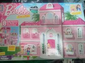 Megablock mansion barbie