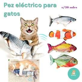 Pez Eléctrico para Gatos