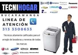 Reparación de neveras y lavadoras