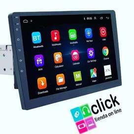 Pantalla Android 8.1 para vehículos, Radio entrada 1din y pantalla de 7 pulgadas