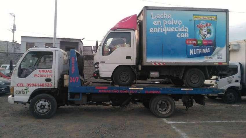 Jac Camión autocargable, wincha o grua 0