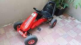Vendo coche Go-kart de carreras para niños