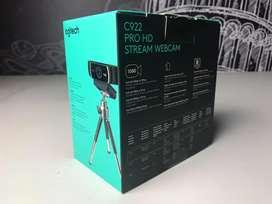 Cámara logitech C922 Pro HD