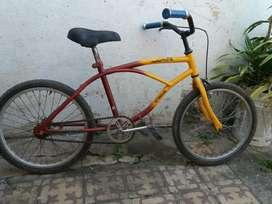 Bicicleta Bici Bmx Cros Playera Rodad 20