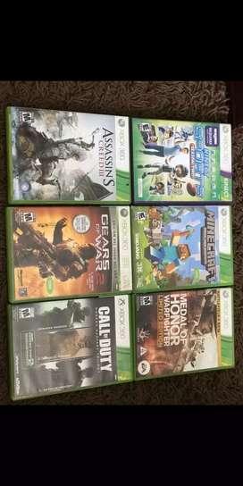 Juegos de Xbox 360 en perfecto estado
