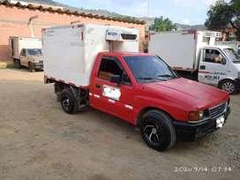 Camioneta tipo furgon