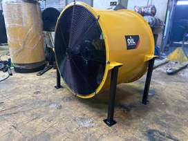 "Ventilador extractor industrial  30"" 7 hp"