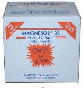 Magnesol  por kilo o caja, para purificar purificar(filtrar)el aceite de frituras y  dar mas rendimiento hasta un 50%