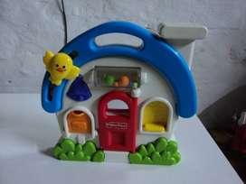 Mattel Fisher Price R7141 Fisher-Price Baby - Casa de juguete para bebés (plástico, 211 x 55 x 242 mm)