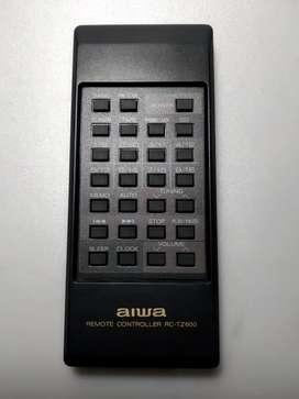 Control remoto aiwa, código RC-TZ600 original