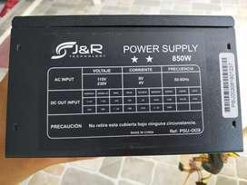 Se vende board h61h2-mv, un procesador i5 3gen, una fuente de 850w, y 2 memoria ram de 4g. DDR3