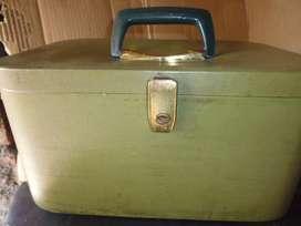 maleta o neceser antiguo coleccionable