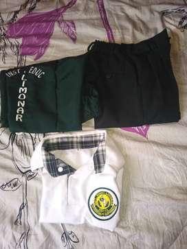 Vendo uniforme para niño del limonar o garabaticos