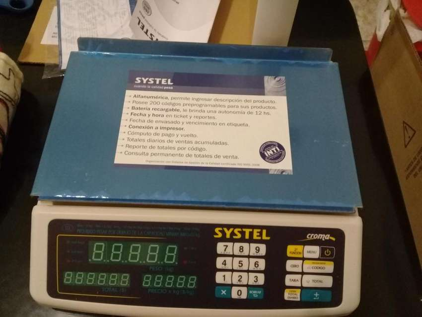 Balanza electronica Systel 0