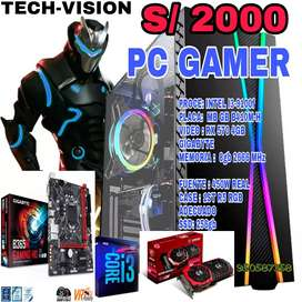 PC GAMER I3-9100F 9VENA GENERACIÓN