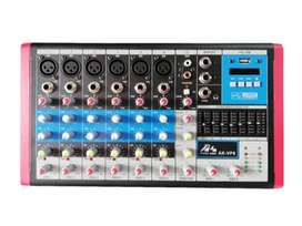 MIXER CONSOLA VP8 AUDIOKING 8 CANALES BLUETOOH USB
