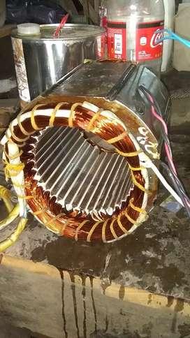 Rebobinado motores de generadores eléctricos