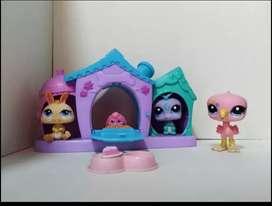Casa de littlest pet shop X3