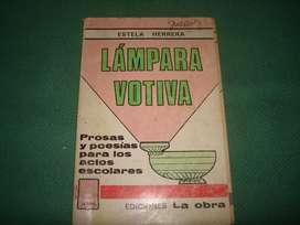 lampara votiva Estela Herrera