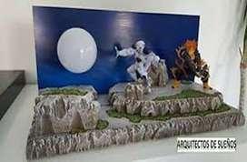 dioramas freezer