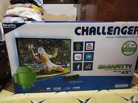 televisor Smart TV Challenger full HD 43 pulgadas